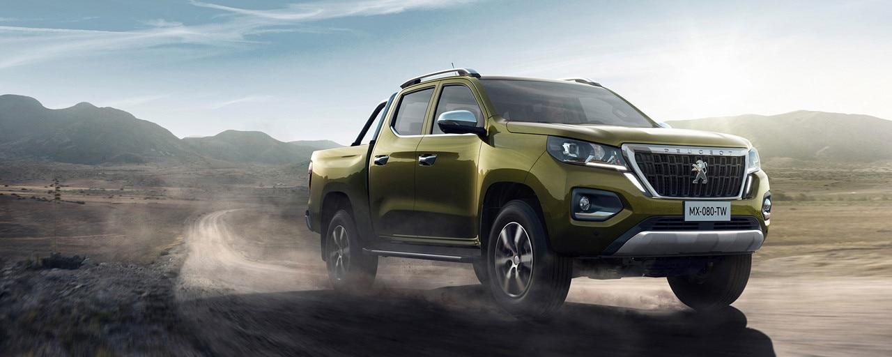 Nuevo pick-up PEUGEOT LANDTREK Multipurpose cabina doble 4x4