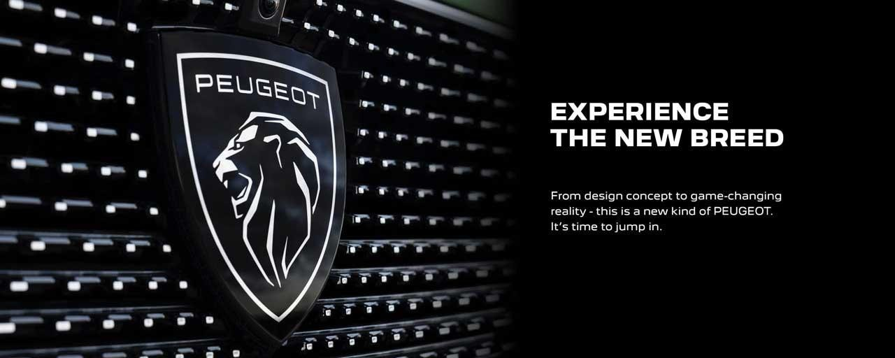 This is a new kind of PEUGEOT. It's time to jump in.